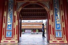 Τάφος του βασιλιά Minh Mang στο χρώμα, Βιετνάμ Στοκ Εικόνα