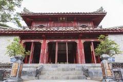 Τάφος του βασιλιά Minh Mang στο χρώμα, Βιετνάμ Στοκ φωτογραφία με δικαίωμα ελεύθερης χρήσης