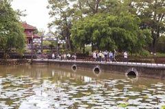 Τάφος του βασιλιά Minh Mang στο χρώμα, Βιετνάμ Στοκ Εικόνες