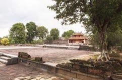 Τάφος του βασιλιά Minh Mang στο χρώμα, Βιετνάμ Στοκ Φωτογραφίες