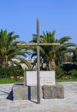 Τάφος του Νίκος Kazantzakis Στοκ φωτογραφία με δικαίωμα ελεύθερης χρήσης