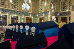 Τάφος του Ahmed σουλτάνων στη Ιστανμπούλ, Τουρκία στοκ εικόνες