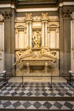 Τάφος του Lorenzo ΙΙ de Medici και κάτω από να βρεθεί στη Σαρκοφάγο Στοκ Εικόνες