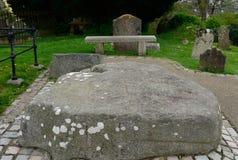 Τάφος του ST Πάτρικ ` s, Downpatrick, Βόρεια Ιρλανδία Στοκ φωτογραφίες με δικαίωμα ελεύθερης χρήσης