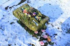 Τάφος των χωρίς πόδια κοριτσιών διδύμων Στοκ εικόνες με δικαίωμα ελεύθερης χρήσης