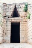 Τάφος Agamemnon σε Mycenae στοκ φωτογραφία με δικαίωμα ελεύθερης χρήσης