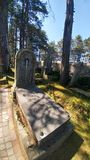 Τάφος Freemason Στοκ Εικόνες