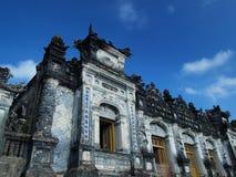 Τάφος Khai Dinh, χρώμα, Βιετνάμ. Περιοχή παγκόσμιων κληρονομιών της ΟΥΝΕΣΚΟ. Στοκ Φωτογραφίες