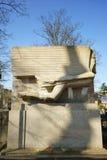 Τάφος Père Lachaise του Oscar Wilde Στοκ φωτογραφίες με δικαίωμα ελεύθερης χρήσης