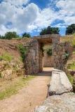 Τάφος Tholos λιονταριών, Mycenae, Ελλάδα Στοκ Εικόνες