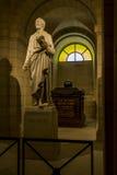 Τάφος Voltaire crypt του Pantheon, Παρίσι Στοκ φωτογραφίες με δικαίωμα ελεύθερης χρήσης