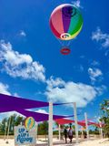 Τέλεια ημέρα CocoCay στοκ εικόνα