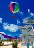 Τέλεια ημέρα CocoCay στοκ φωτογραφίες με δικαίωμα ελεύθερης χρήσης