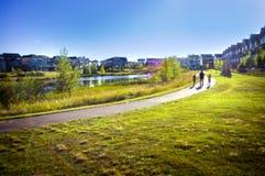 Τέλεια κοινότητα γειτονιάς Στοκ φωτογραφίες με δικαίωμα ελεύθερης χρήσης