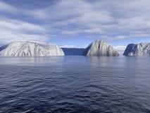 τέλεια ύδατα Στοκ εικόνα με δικαίωμα ελεύθερης χρήσης