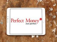 Τέλειο λογότυπο τραπεζών χρημάτων Στοκ εικόνα με δικαίωμα ελεύθερης χρήσης