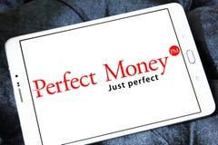 Τέλειο λογότυπο τραπεζών χρημάτων Στοκ Εικόνα