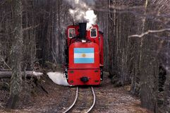 Τέλος του παγκόσμιου τραίνου στοκ εικόνες