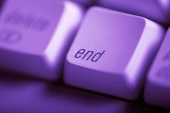 τέλος Στοκ Φωτογραφία