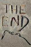 τέλος Στοκ Εικόνα