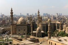Τέμενος-Madrassa του σουλτάνου Χασάν Κάιρο Egipt Στοκ φωτογραφία με δικαίωμα ελεύθερης χρήσης