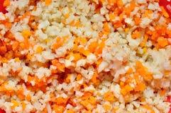 τέμνοντα λαχανικά Στοκ εικόνα με δικαίωμα ελεύθερης χρήσης