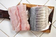 Τέμνοντα ψάρια Στοκ φωτογραφίες με δικαίωμα ελεύθερης χρήσης
