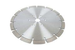 Τέμνοντες δίσκοι με τα διαμάντια - δίσκοι διαμαντιών για το σκυρόδεμα που απομονώνεται στο άσπρο υπόβαθρο Στοκ εικόνα με δικαίωμα ελεύθερης χρήσης