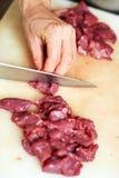 τέμνον κρέας στοκ εικόνες με δικαίωμα ελεύθερης χρήσης