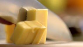 Τέμνον τυρί απόθεμα βίντεο