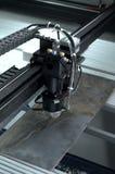 Τέμνουσα μηχανή λέιζερ Στοκ φωτογραφίες με δικαίωμα ελεύθερης χρήσης