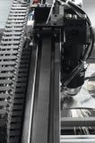 Τέμνουσα μηχανή λέιζερ Στοκ εικόνα με δικαίωμα ελεύθερης χρήσης