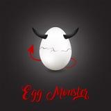 Τέρας αυγών Στοκ Εικόνες