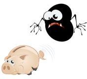 τέρας τραπεζών piggy ελεύθερη απεικόνιση δικαιώματος