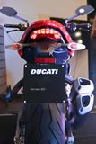 Τέρας 821 Ducati - Ινδία Στοκ Φωτογραφία