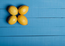 τέσσερα λεμόνια Στοκ εικόνα με δικαίωμα ελεύθερης χρήσης