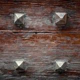 Τέσσερα καρφιά σιδήρου Στοκ φωτογραφία με δικαίωμα ελεύθερης χρήσης