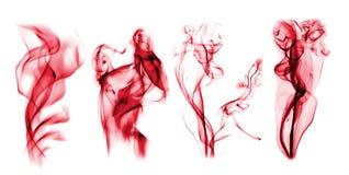 τέσσερα κόκκινα Στοκ Εικόνες