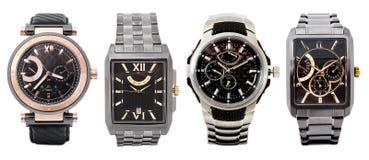 τέσσερα ρολόγια Στοκ Εικόνες