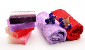 τέσσερα σαπούνια Στοκ εικόνα με δικαίωμα ελεύθερης χρήσης