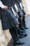 Τέσσερα σκωτσέζικα άτομα Στοκ φωτογραφία με δικαίωμα ελεύθερης χρήσης