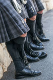 Τέσσερα σκωτσέζικα άτομα Στοκ εικόνα με δικαίωμα ελεύθερης χρήσης