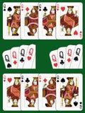 τέσσερις βασίλισσες Στοκ Εικόνα
