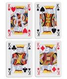 τέσσερις βασιλιάδες Στοκ Εικόνες