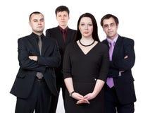 Τέσσερις επιχειρηματίες Στοκ φωτογραφίες με δικαίωμα ελεύθερης χρήσης