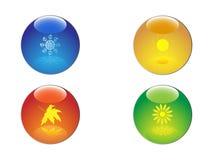 τέσσερις εποχές απεικόνιση αποθεμάτων