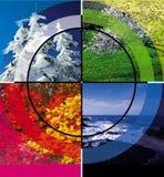 τέσσερις εποχές Στοκ Φωτογραφία