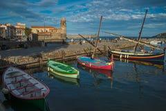 Τέσσερις βάρκες Στοκ Φωτογραφίες