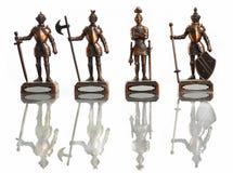 τέσσερις ιππότες Στοκ φωτογραφία με δικαίωμα ελεύθερης χρήσης