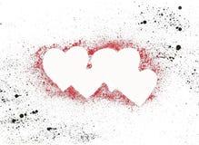 τέσσερις καρδιές Στοκ Φωτογραφία